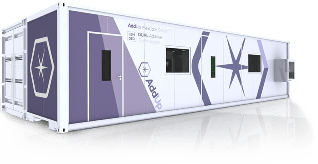 AddUp FlexCare System pour la fabrication additive