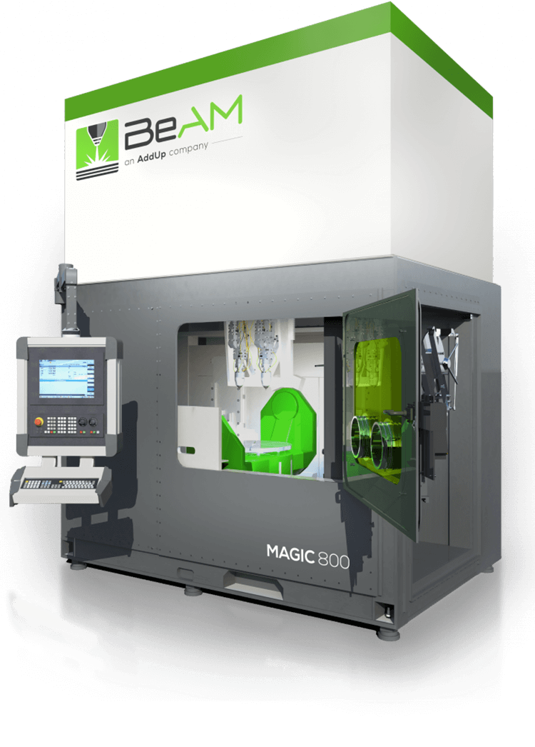 BeAM Magic 800 DED additive manufacturing machine