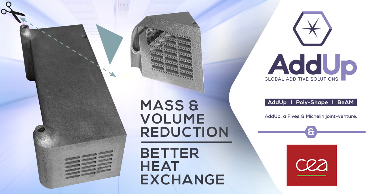 Additive Manufaturing heat exchanger case study with CEA commission