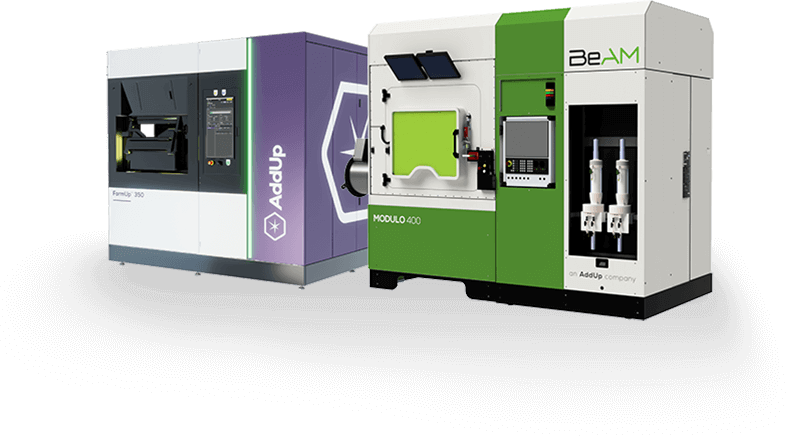Metal Additive Manufacturing Machines PBF and DED